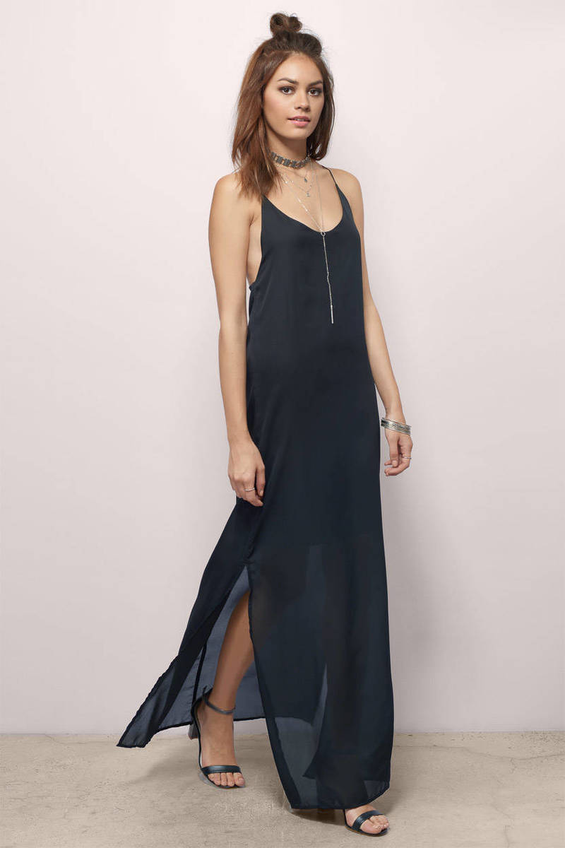 Meet Your Match Mint Maxi Dress