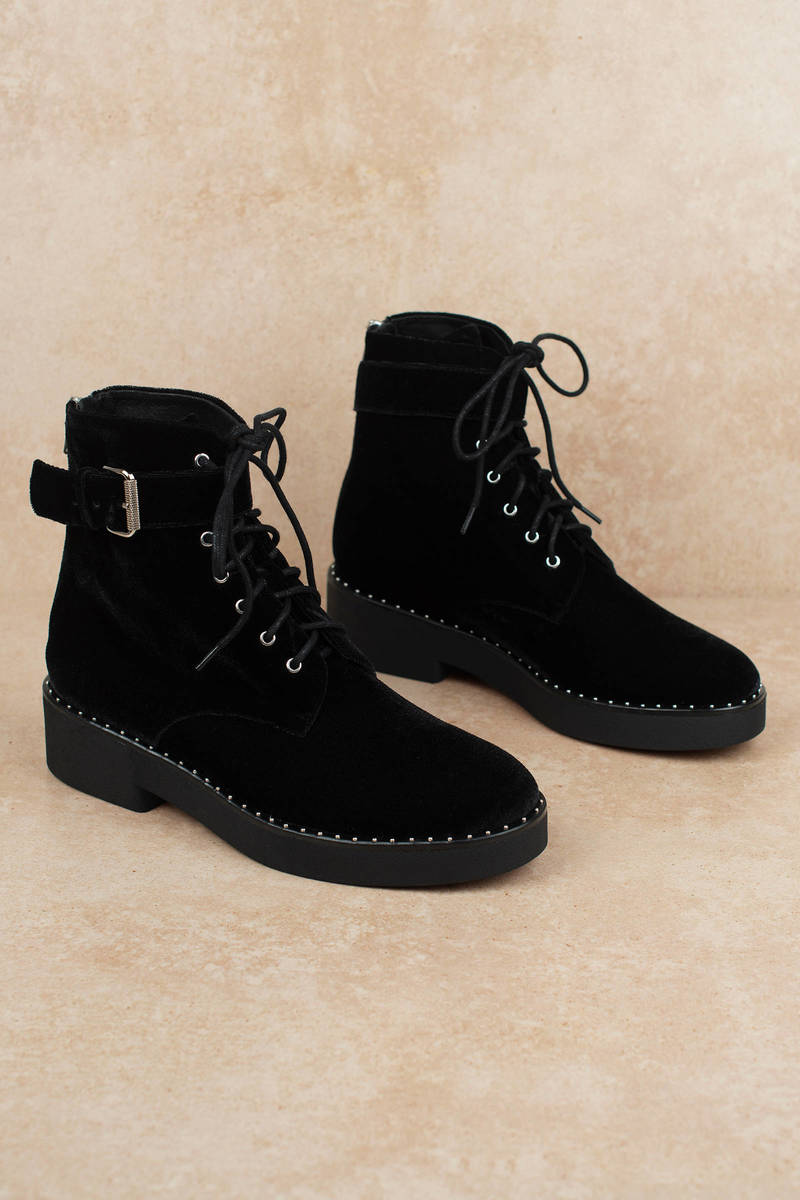 Black Sol Sauna Boots - Velvet Boots
