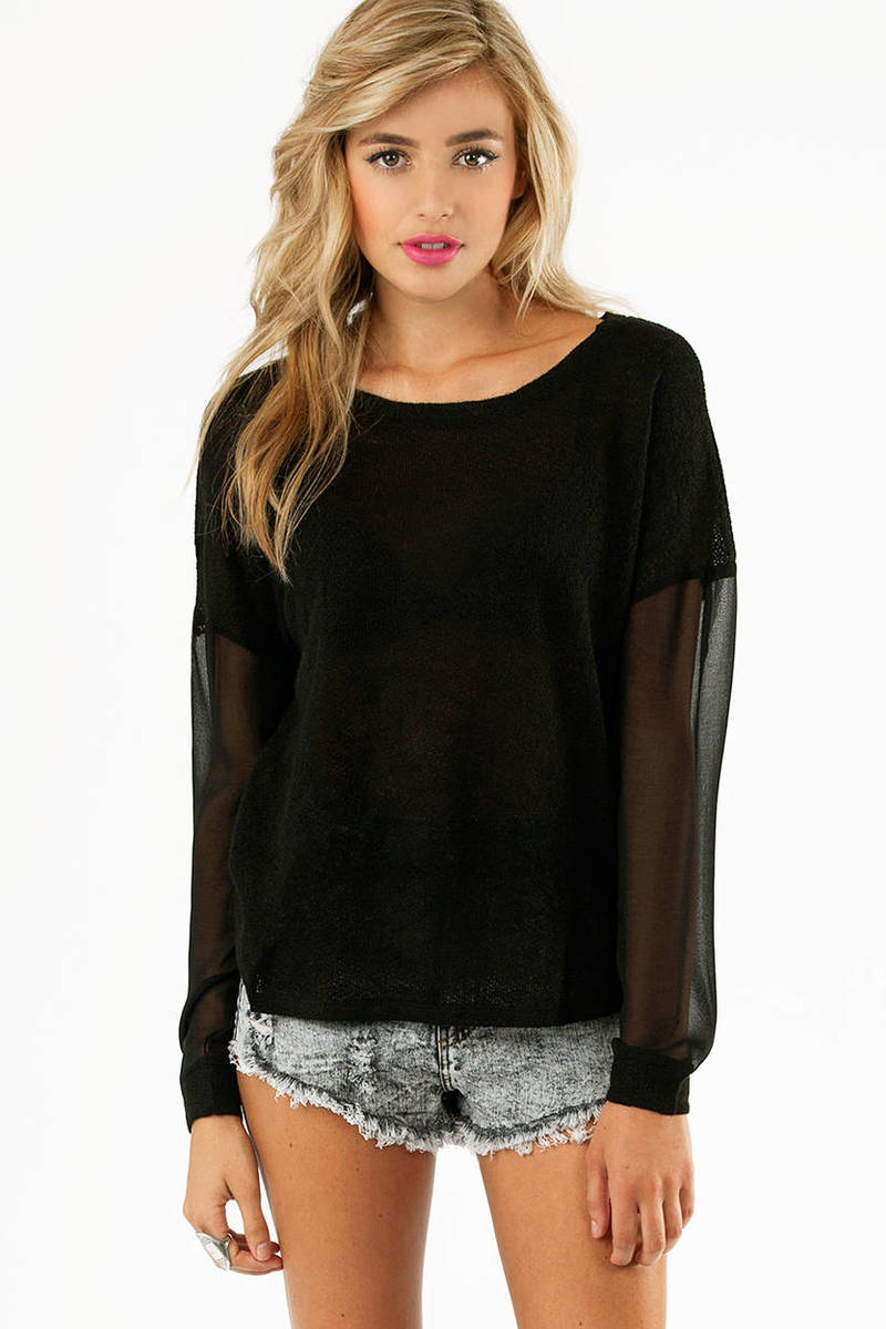 Mesh Me Up Sweater