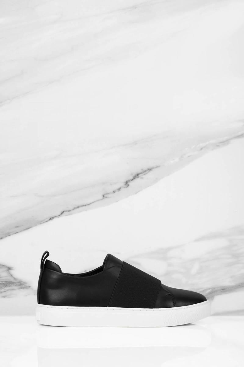 Sol Sana Sol Sana Mickey Black Slip On Sneakers