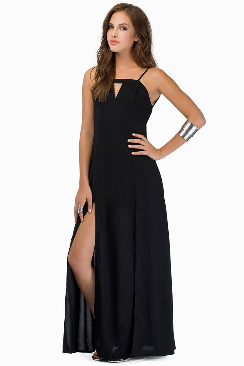 Midnight Talks Maxi Dress