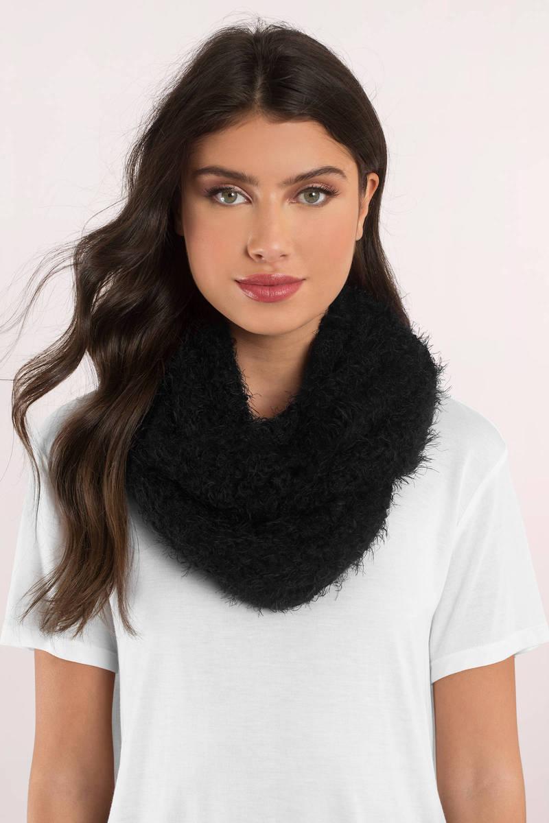 Montauk Ivory Knit Infinity Scarf