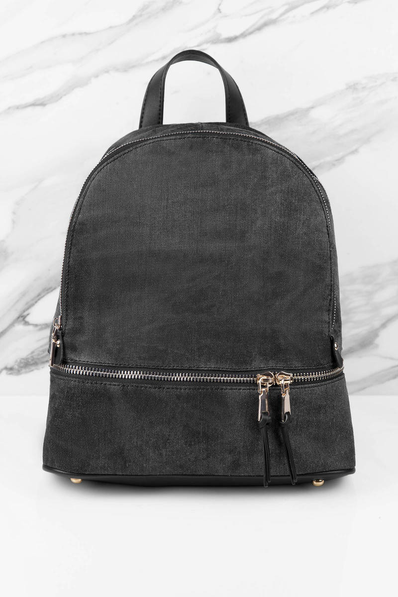 Urban Expressions Urban Expressions Monty Black Backpack