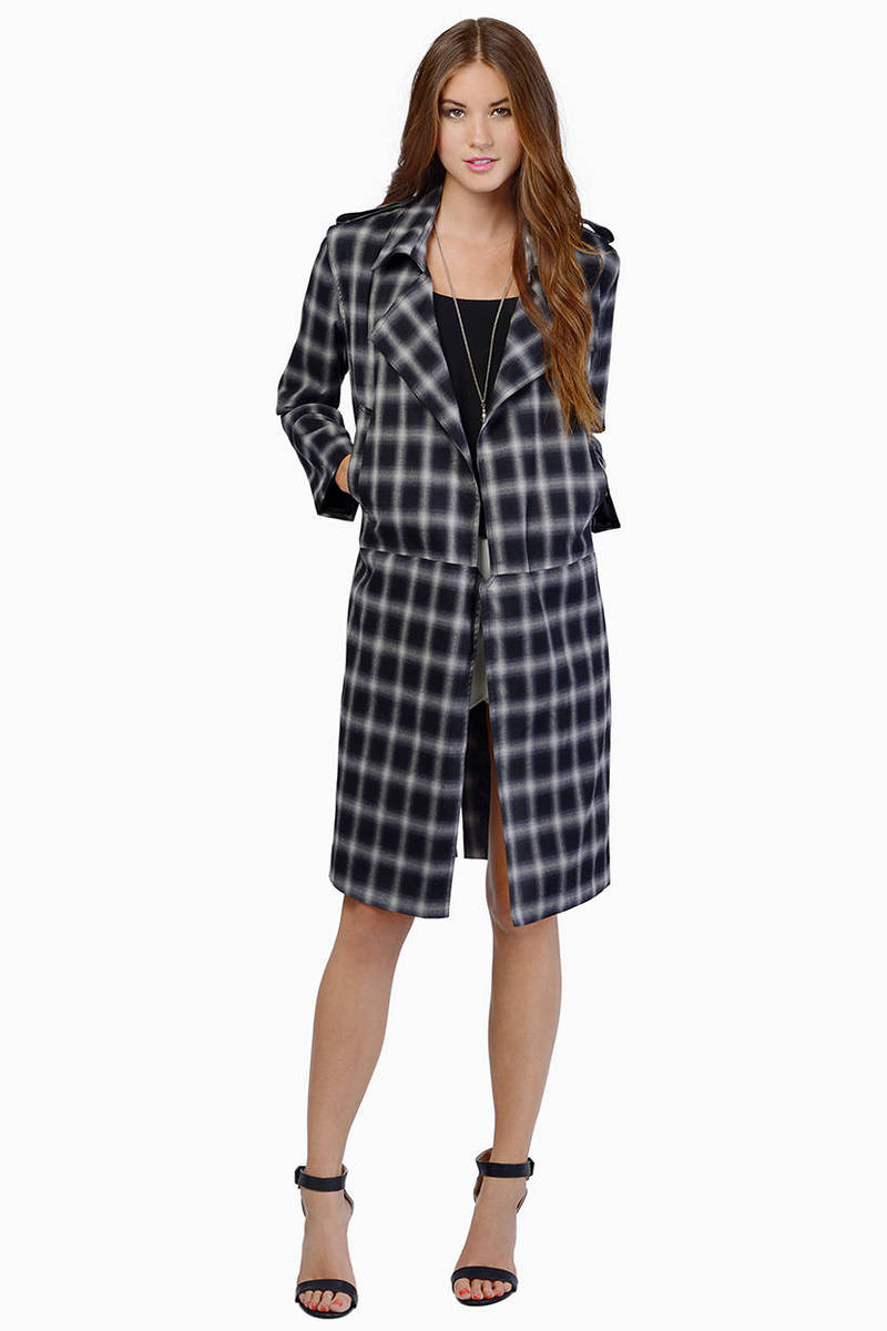 Line & Dot Keaton Trench Coat