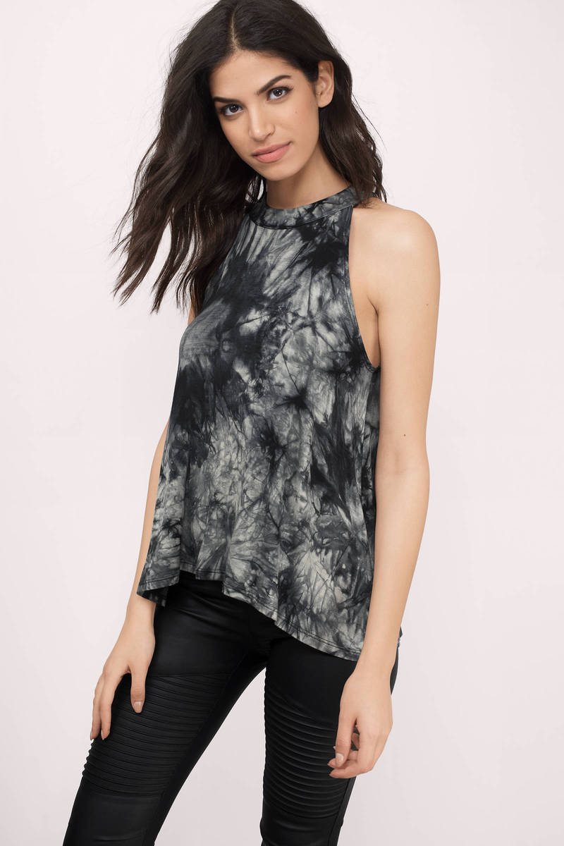 Rebecca Black Multi Tie Dye Top