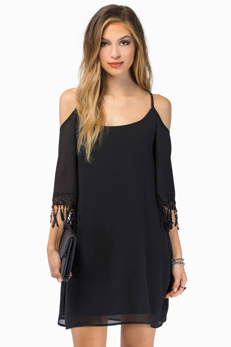 My My Open Shoulder Dress