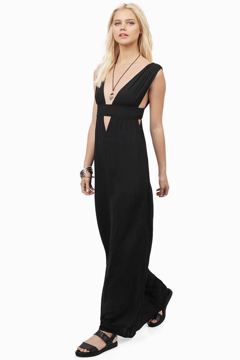 Mykonos Coral Maxi Dress
