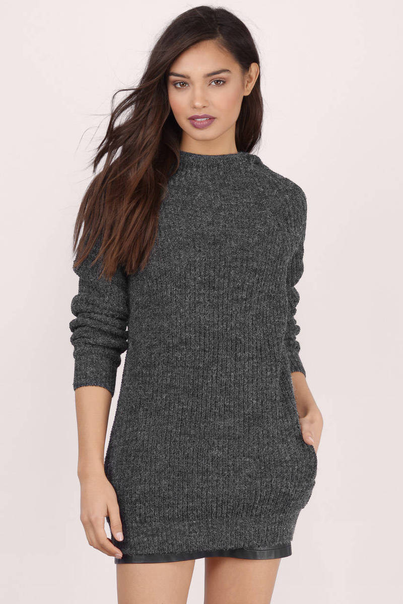 Night In Hound Grey Sweater