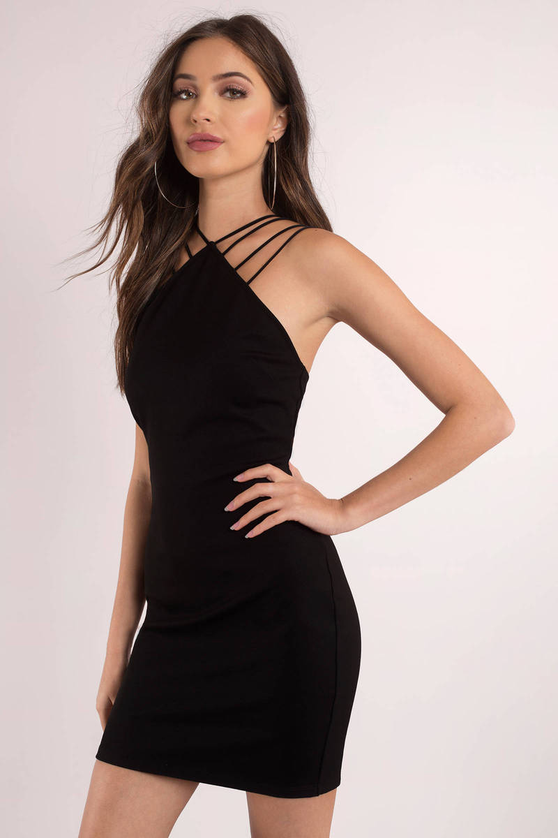 Not Your Average Lbd Black Bodycon Dress