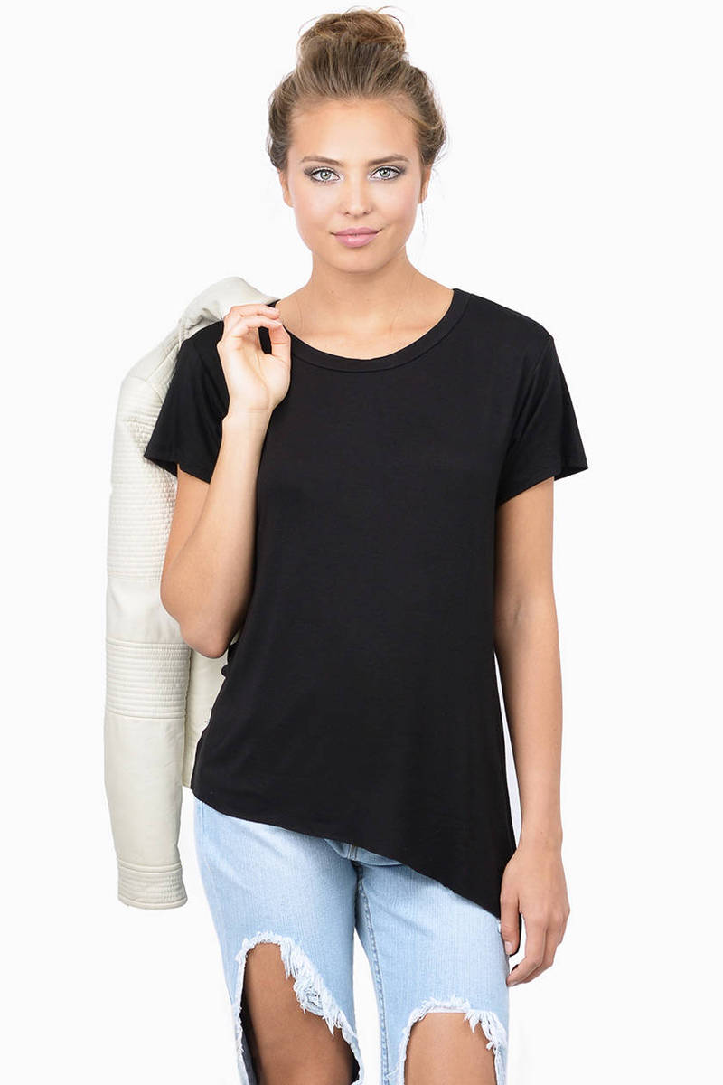 Nowhere But Up Black Tee