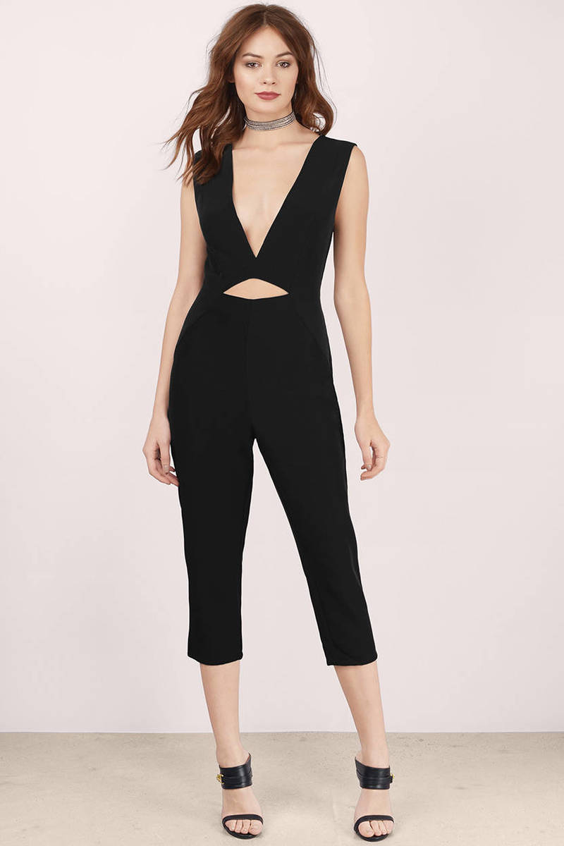 Object Of Envy Black Jumpsuit