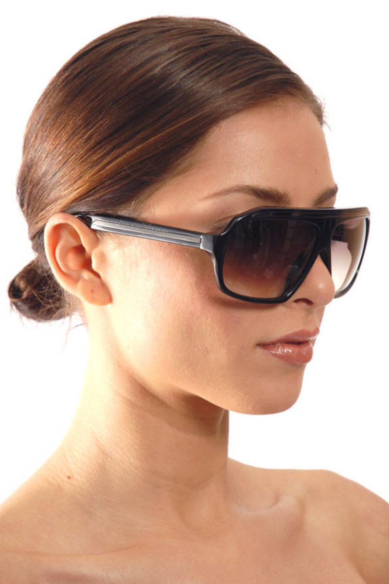 9d4dbf93aa Black Old Sunglasses In Black -  225