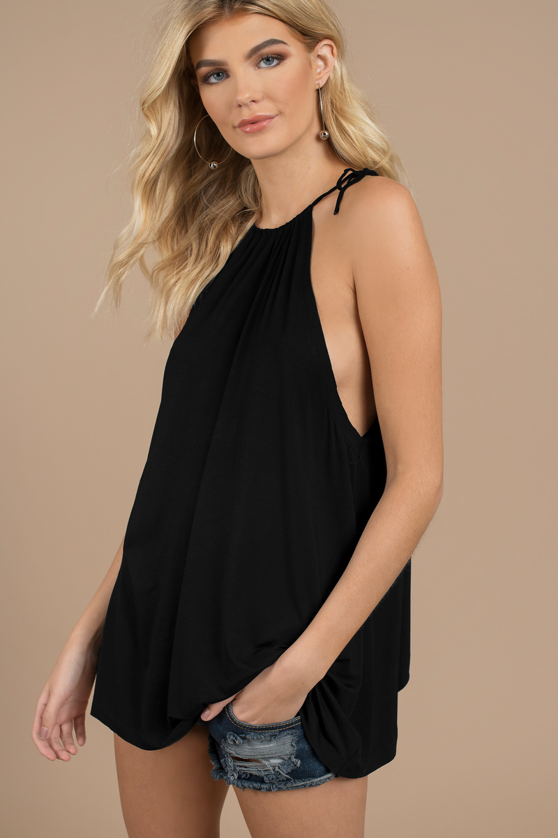 One Way Modal Olive Tank Top