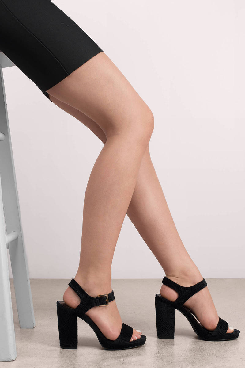 Other Way Blush Velvet Heels