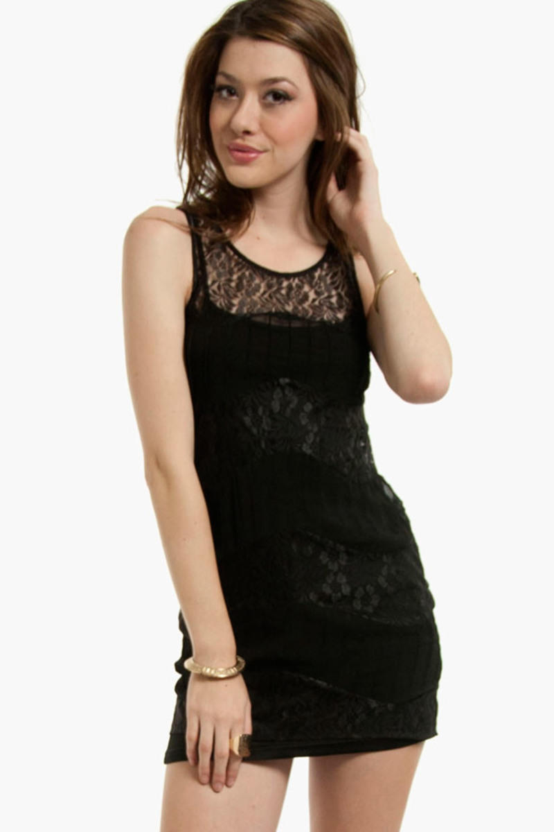 Out of Lace Dress