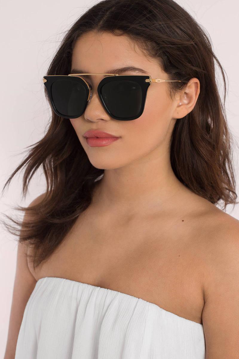 Sonix Cases Sonix Parker Black Sunglasses