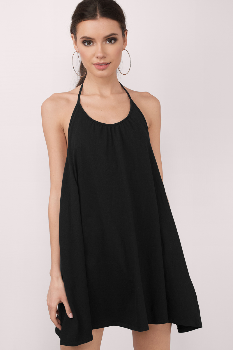 Paula Black Shift Dress