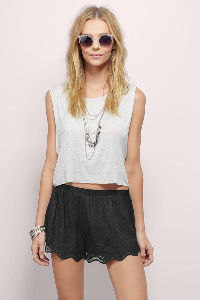 Perfect Creation Lace Shorts