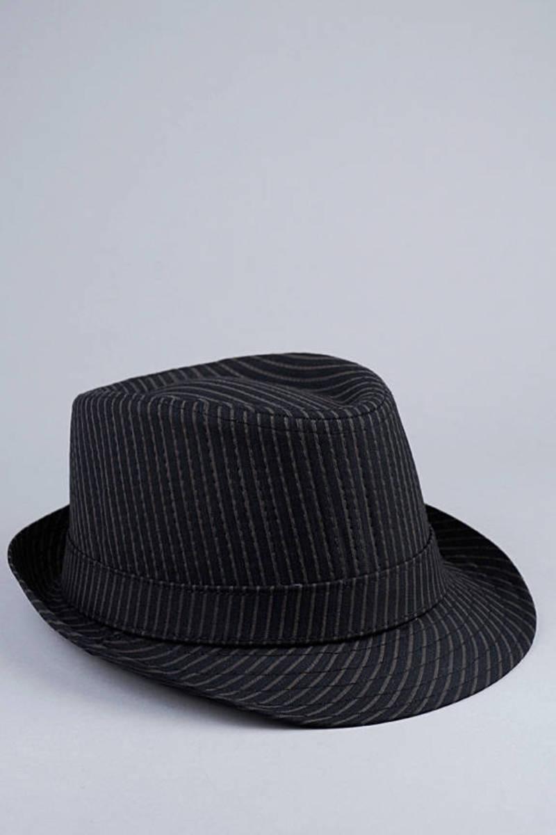 4eaea3b46 Pinotxo II Pinstripe Fedora Hat