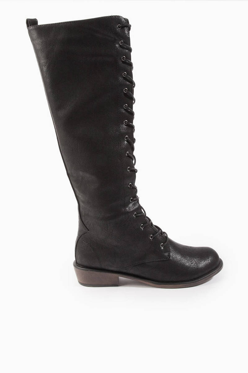 Dirty Laundry Pride & Joy Lace Up Boots