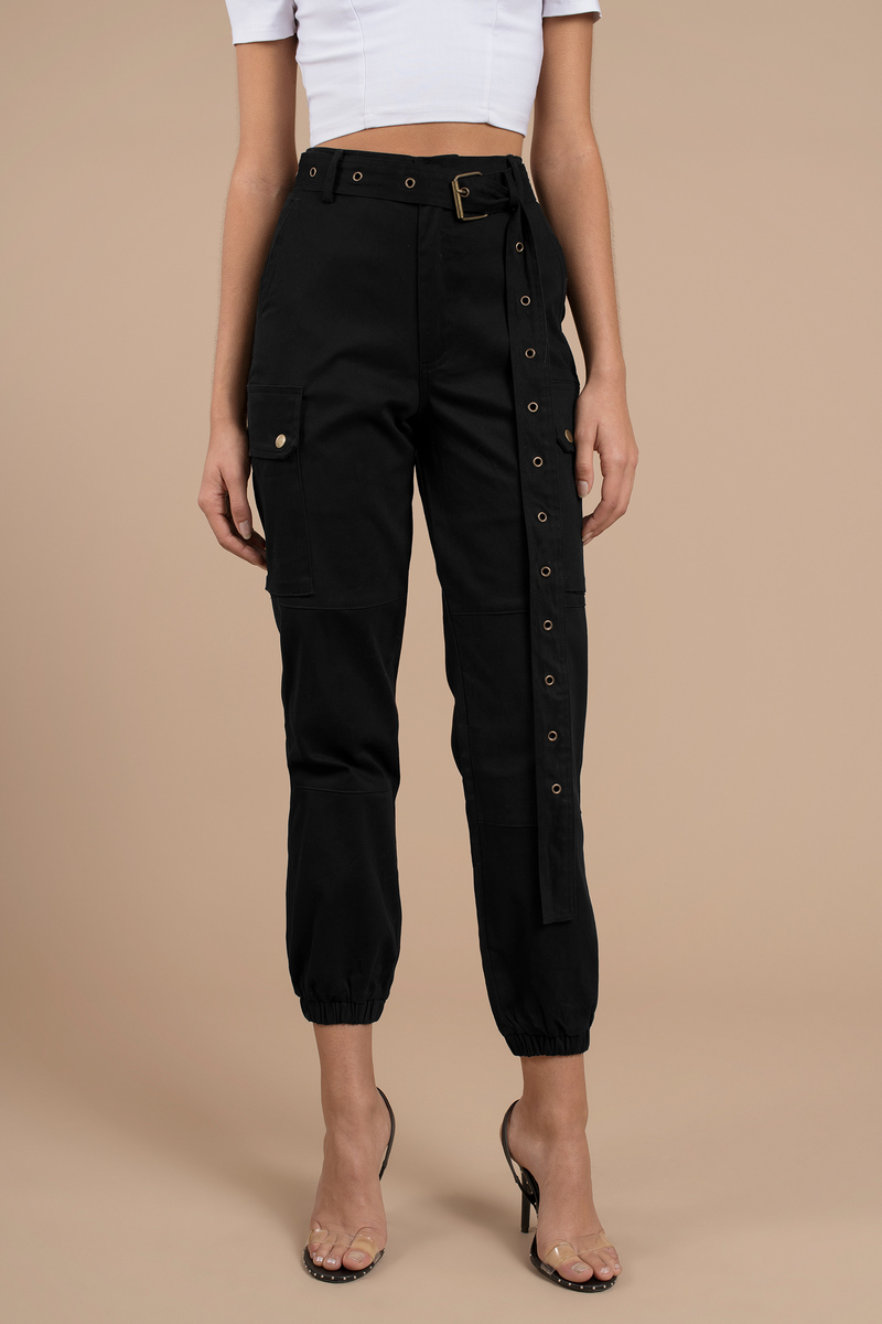 045706272b Private Kelly Belted Cargo Pants