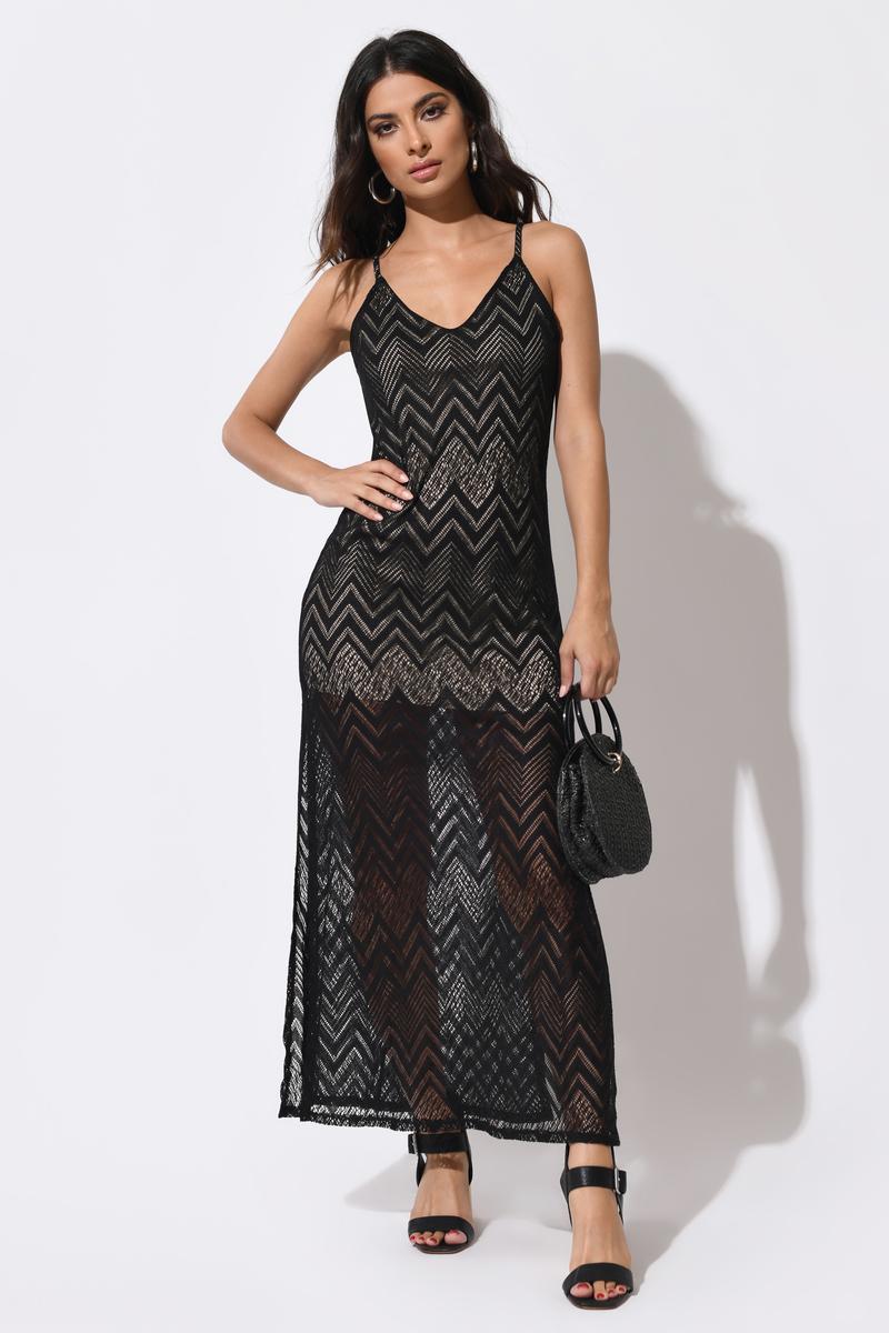 Rebecca Black Maxi Dress