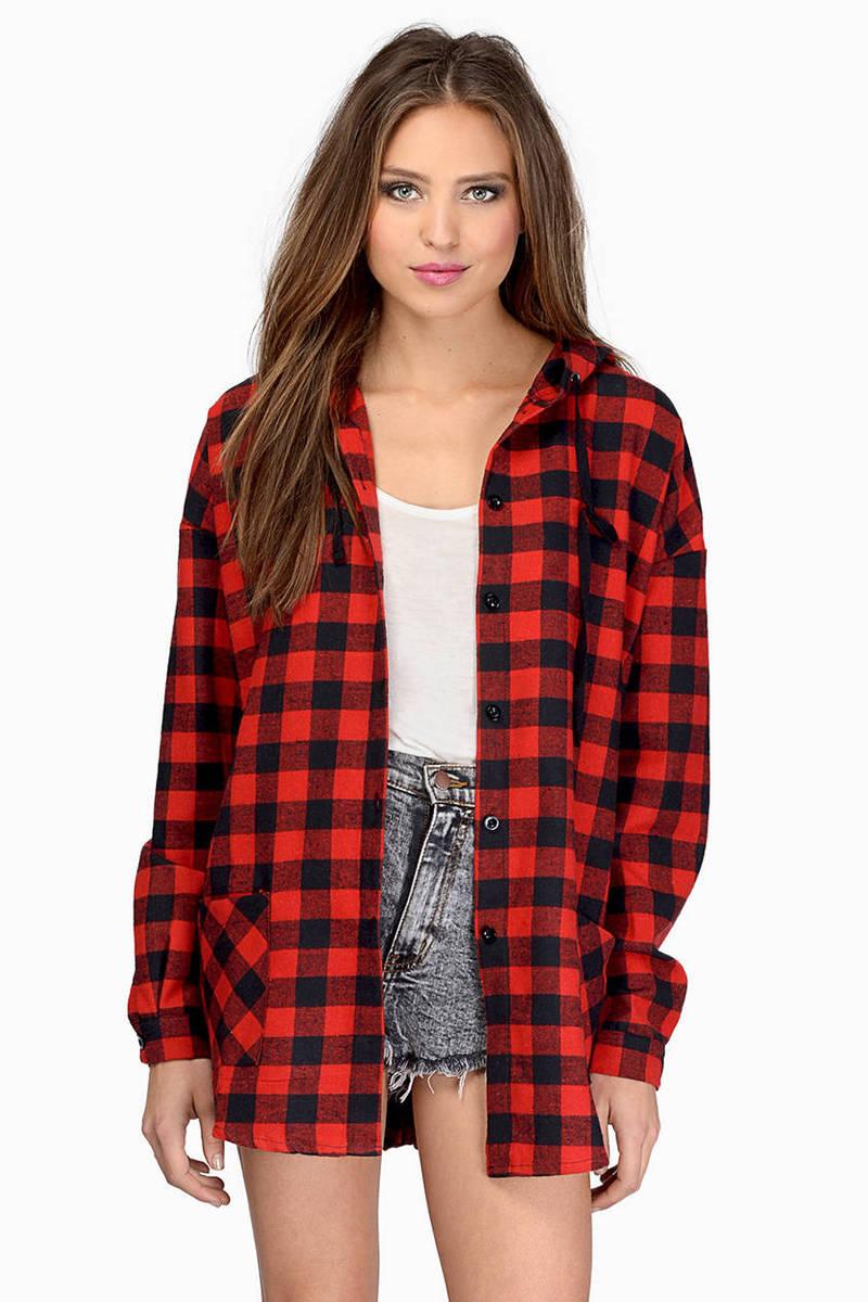 Lowrider Plaid Hooded Jacket