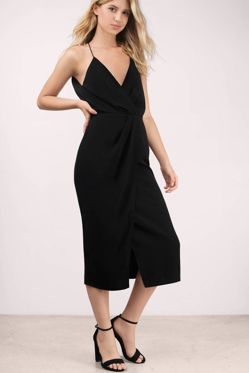 Keepsake Keepsake Rescue Me Black Midi Dress