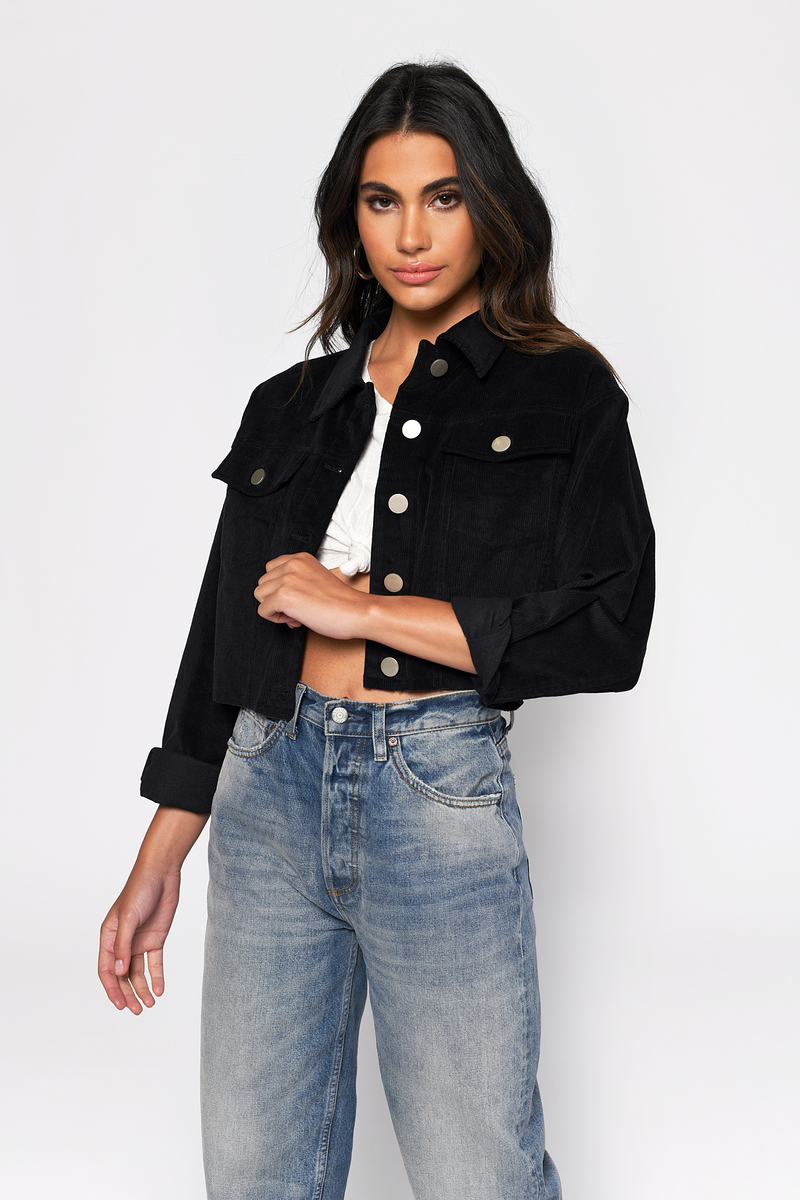 Junior Clothing | Denim Distressed Longlined Jacket