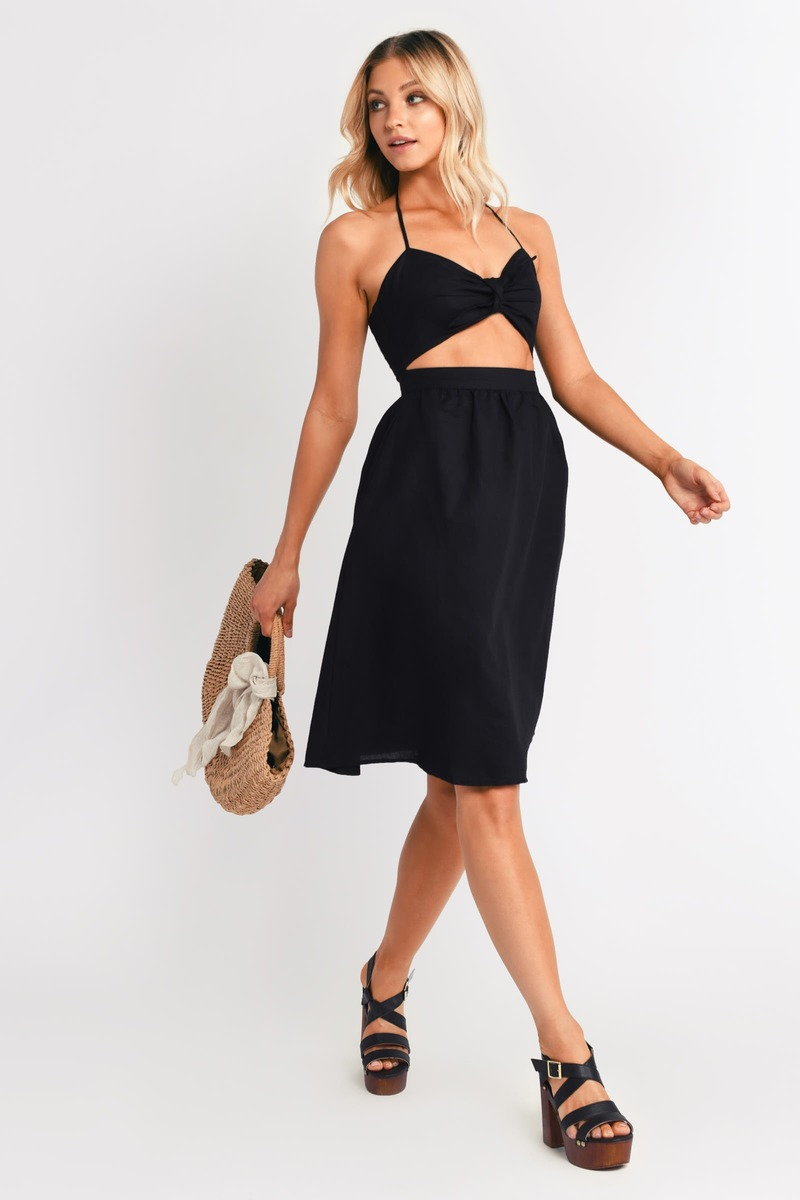 Robyn Ivory Midi Dress