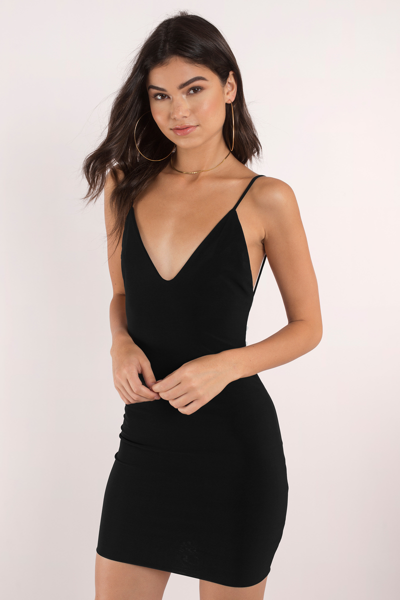 Rock The Night Black Bodycon Dress