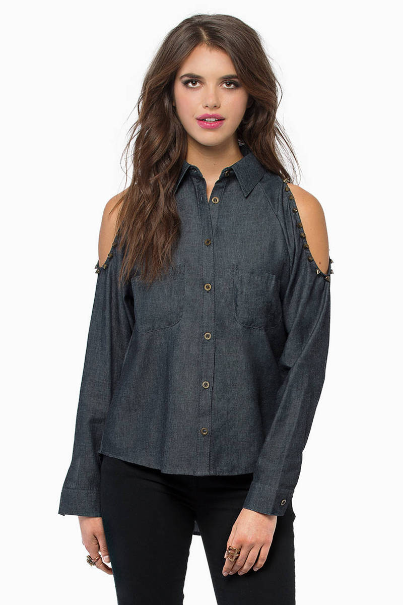 Rough And Rumble Black Denim Shirt