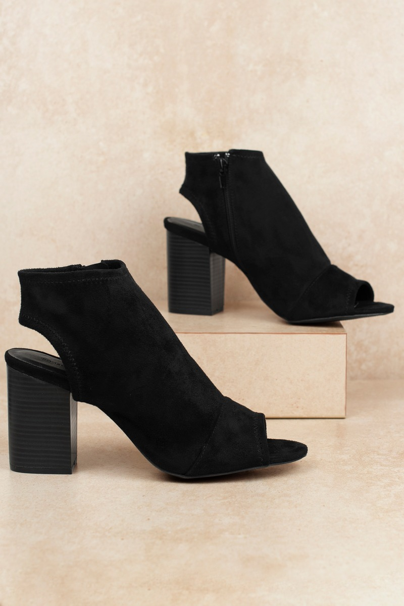 06be0aee260 Black Booties - Cut Out Booties - Tan Booties - $66 | Tobi US