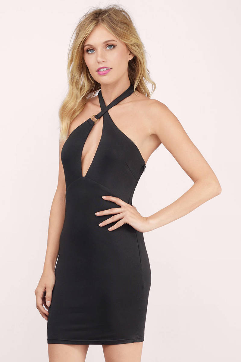 See Eye To Eye Ivory Bodycon Dress