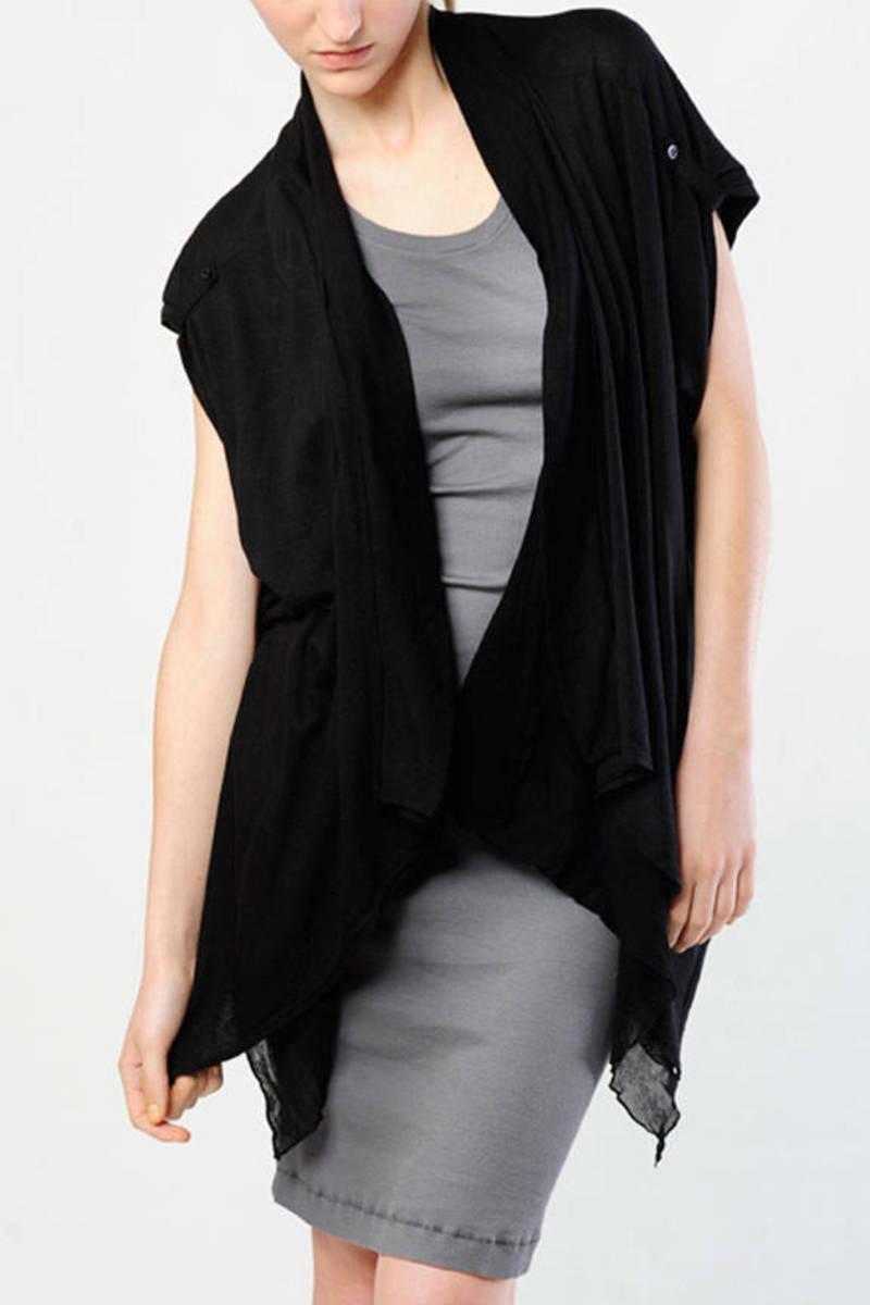 acc835f2cb423e Black splendid cardigan drape cardigan black day cardigan jpg 800x1200  Black sheer cardigan