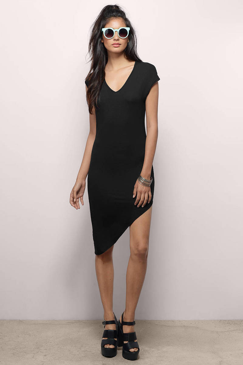 Shonda Grey Bodycon Dress