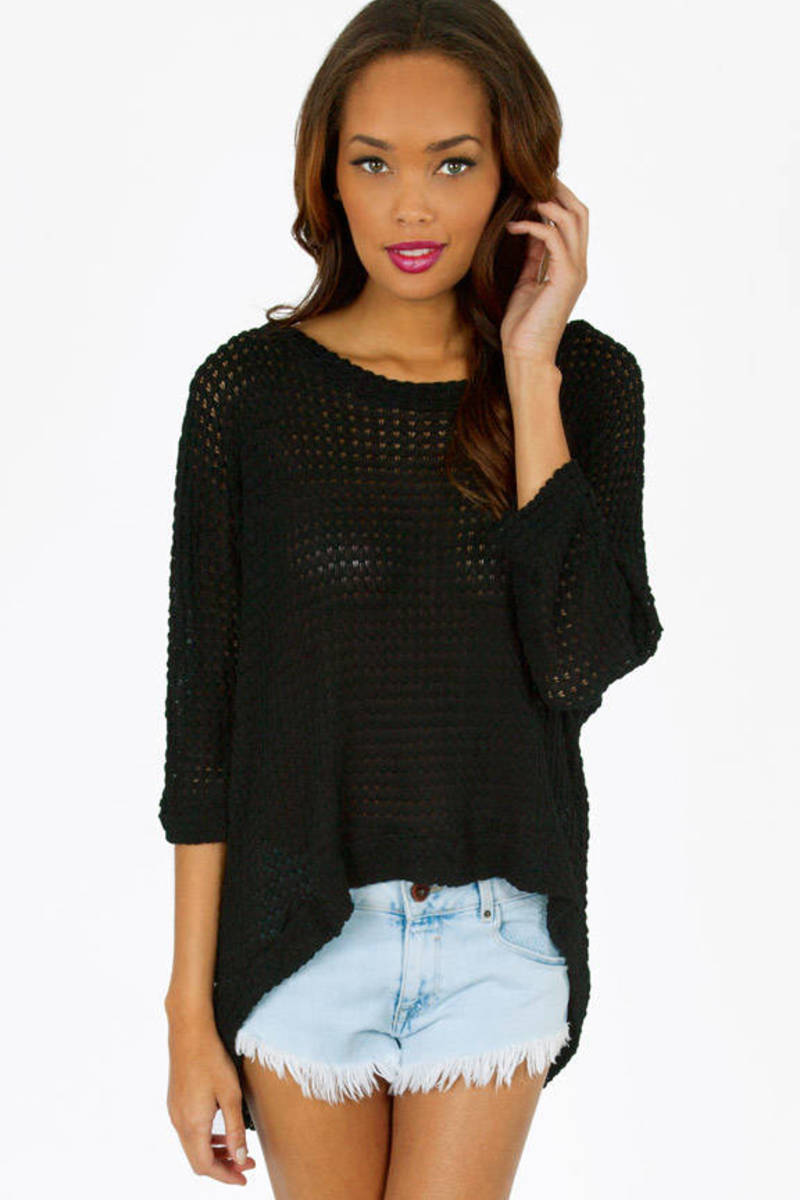 Softly Crocheted Top