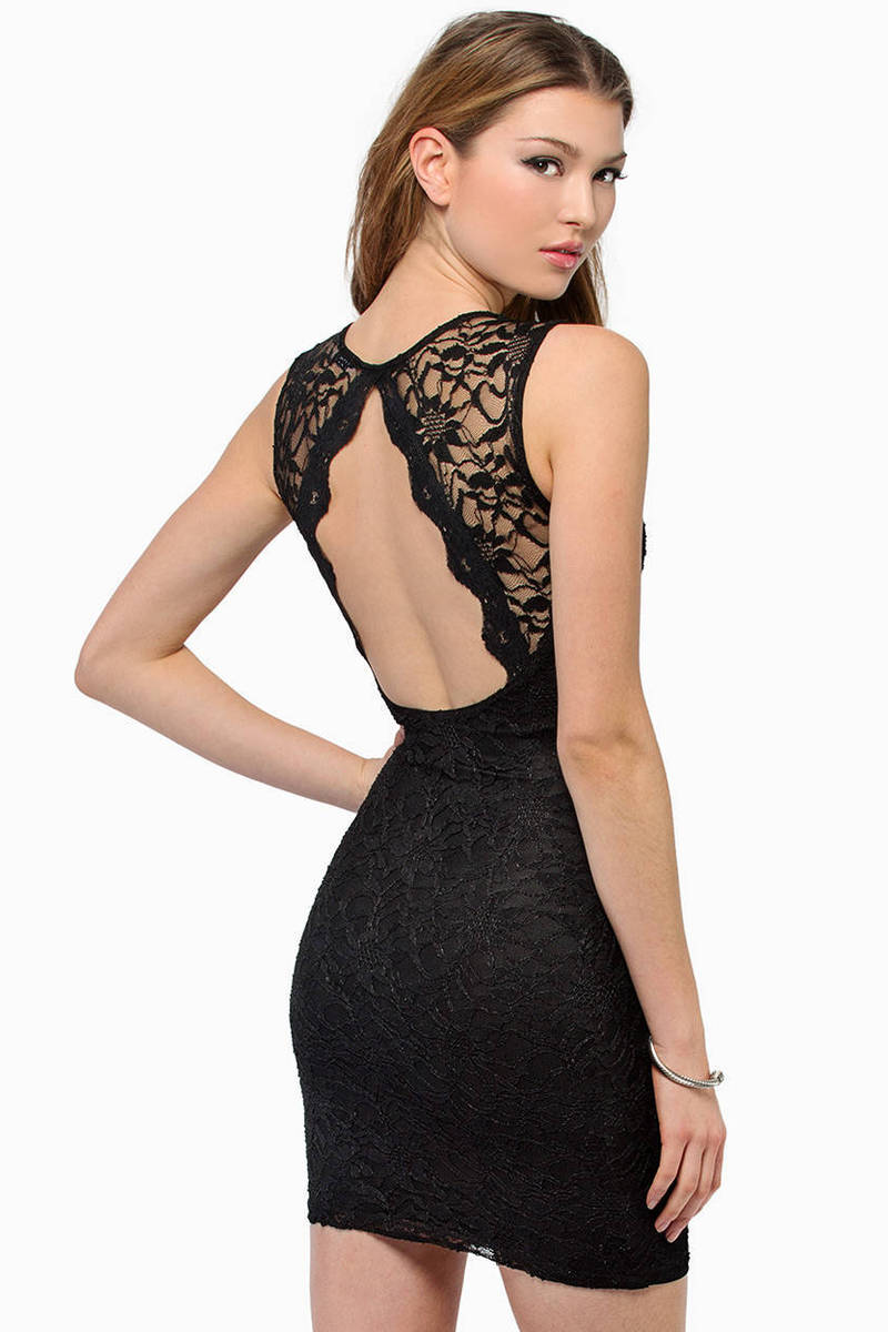 Space Lace Dress