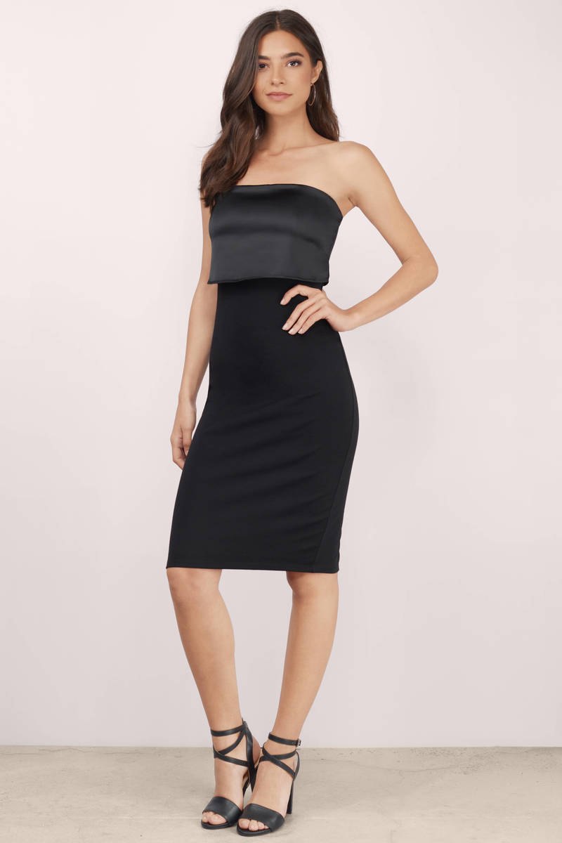 Dress and outfits Black-stay-classy-tube-midi-dress