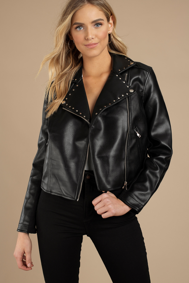 celebrita x stud leather steel jacket bone western beads