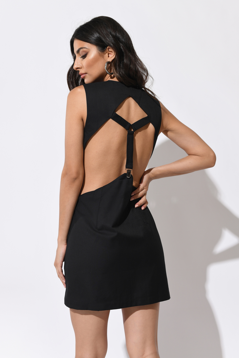 Trendy Black Shift Dress - Suspender Dress - Shift Dress - € 20 ... 4fc87b294