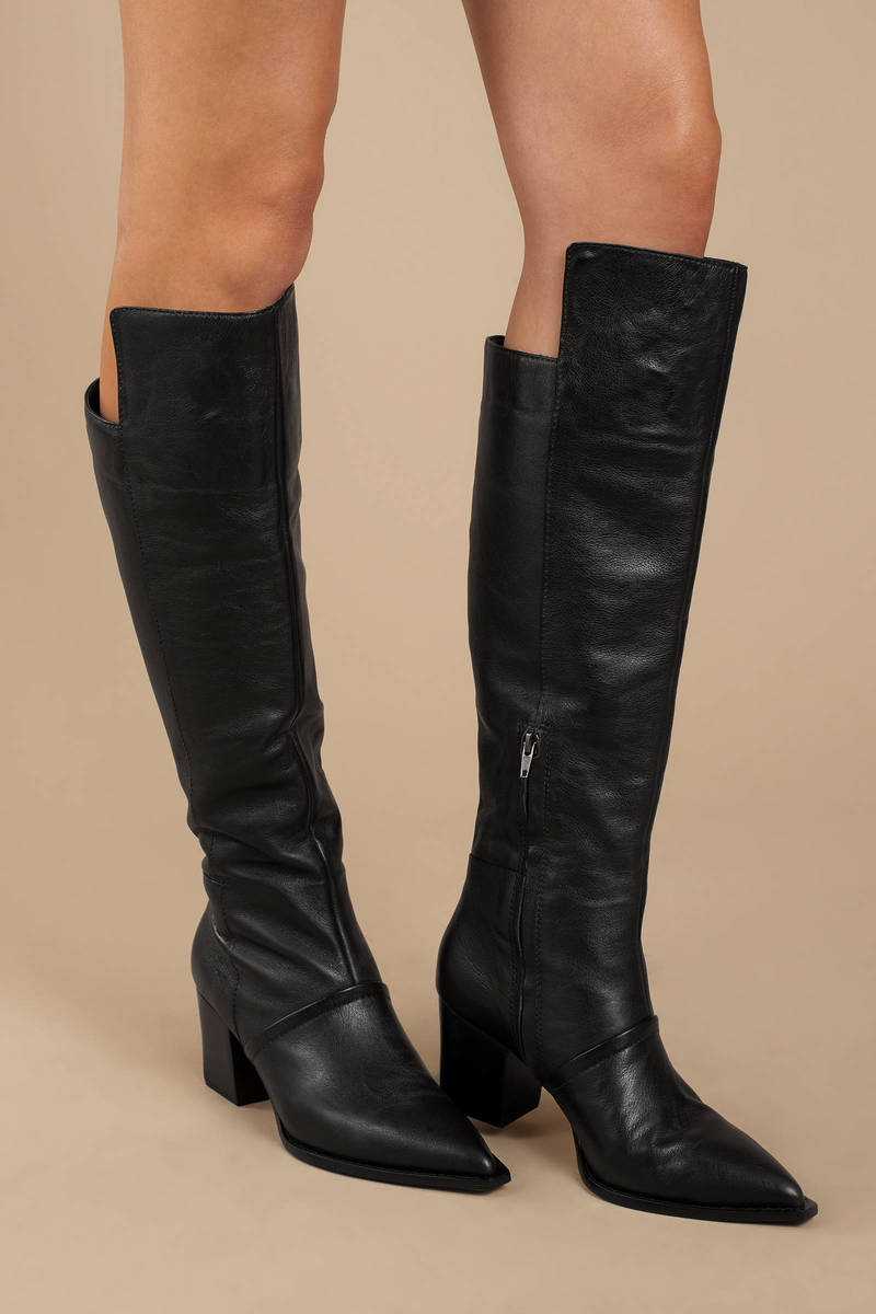 Black Lust For Life Boots - Leather