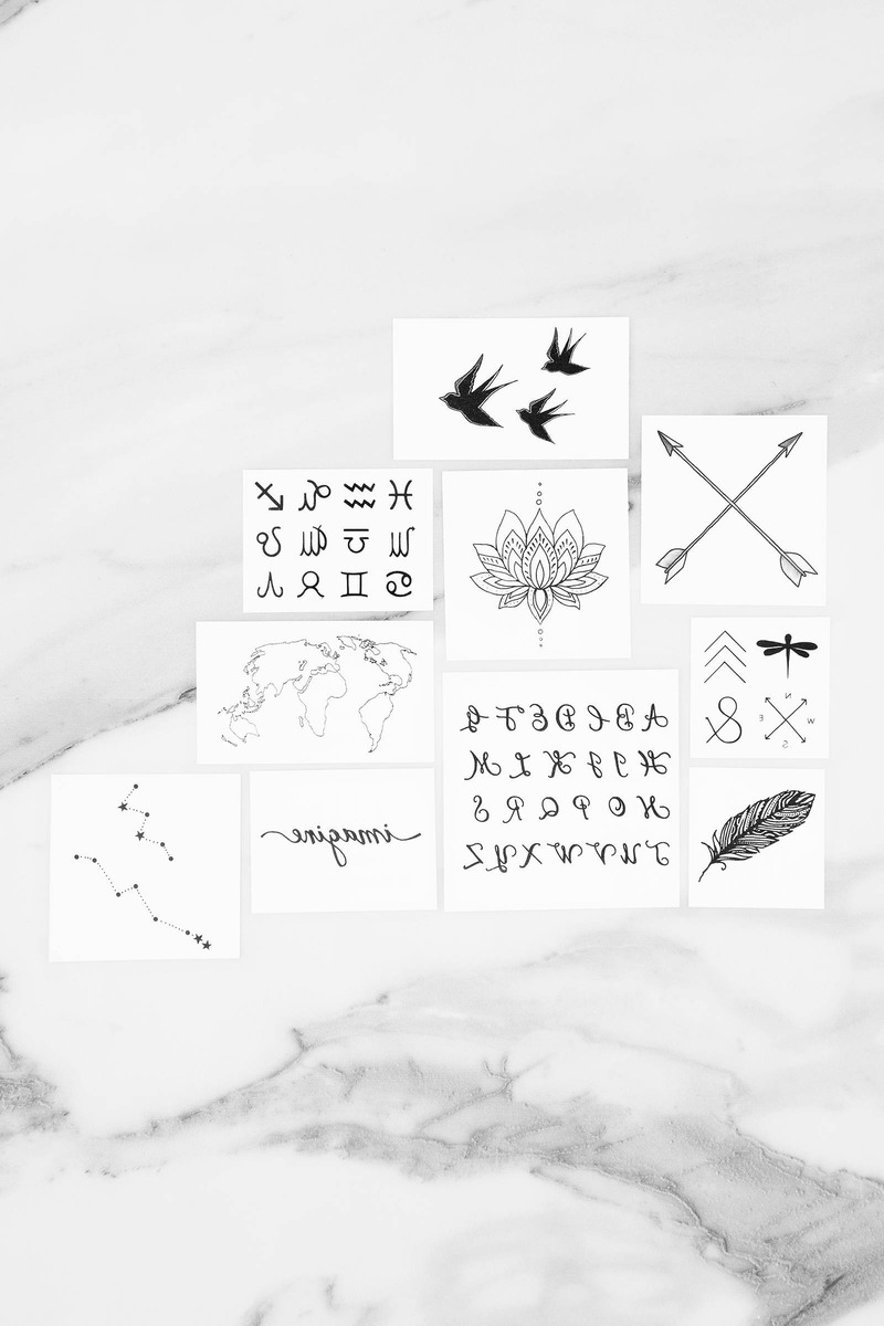 INKED by dani The Inspired Temporary Tattoos