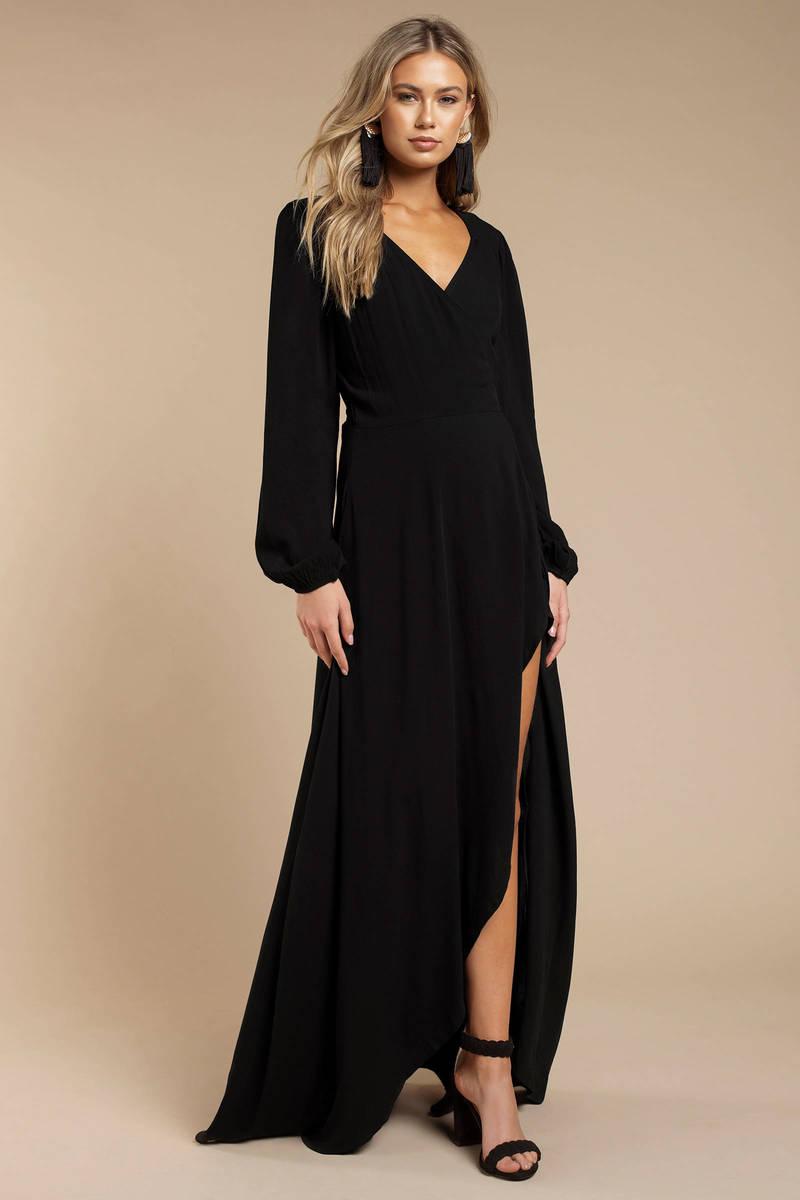 ee0e13f823 Stillwater The Laduree Black Maxi Dress - $232 | Tobi US