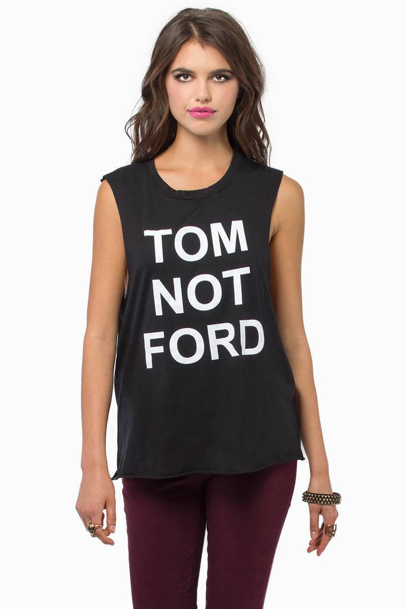 BLQ BASIQ Tom Not Ford Tank
