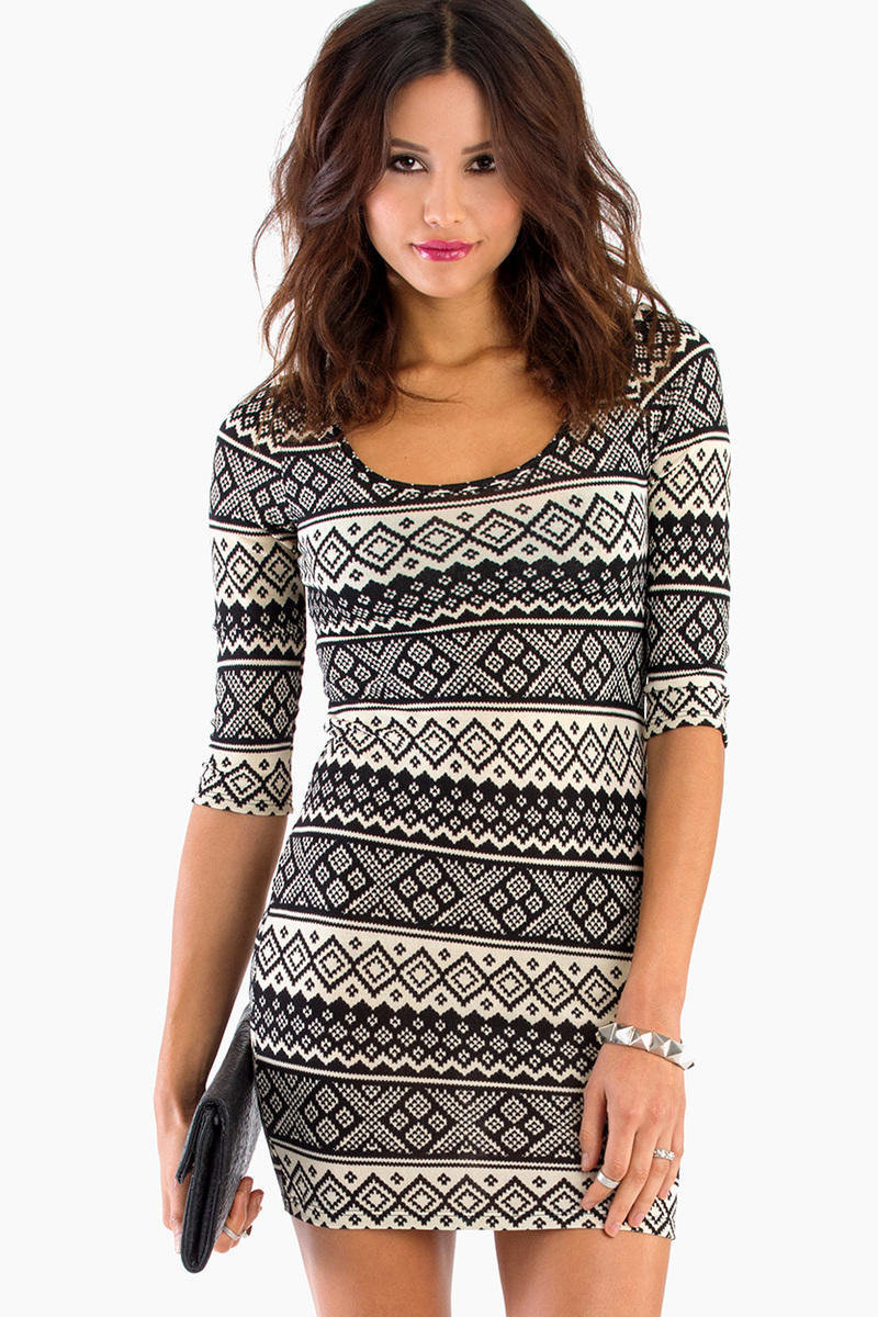 Tracy Tribal Dress
