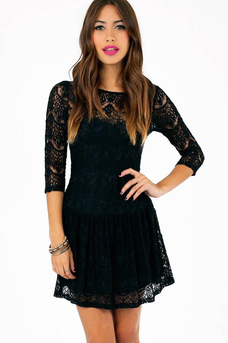 Trina Drop Waist Dress
