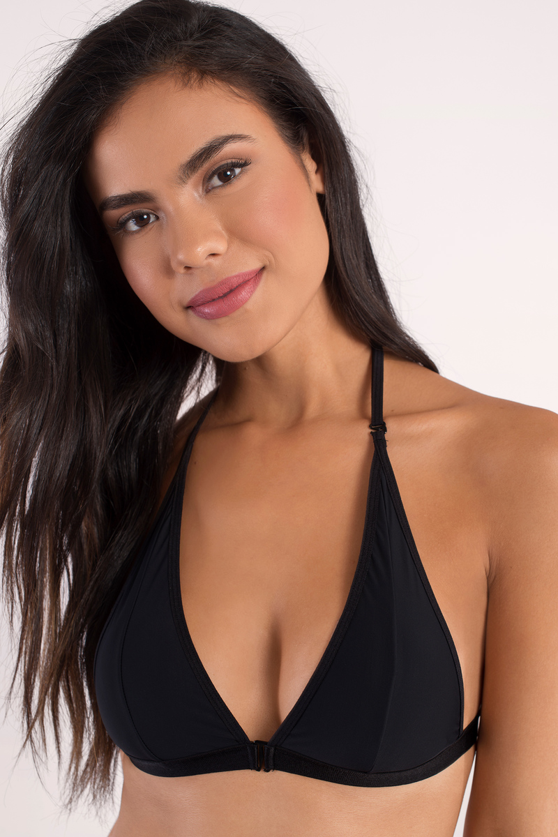 Trish Black Bralette