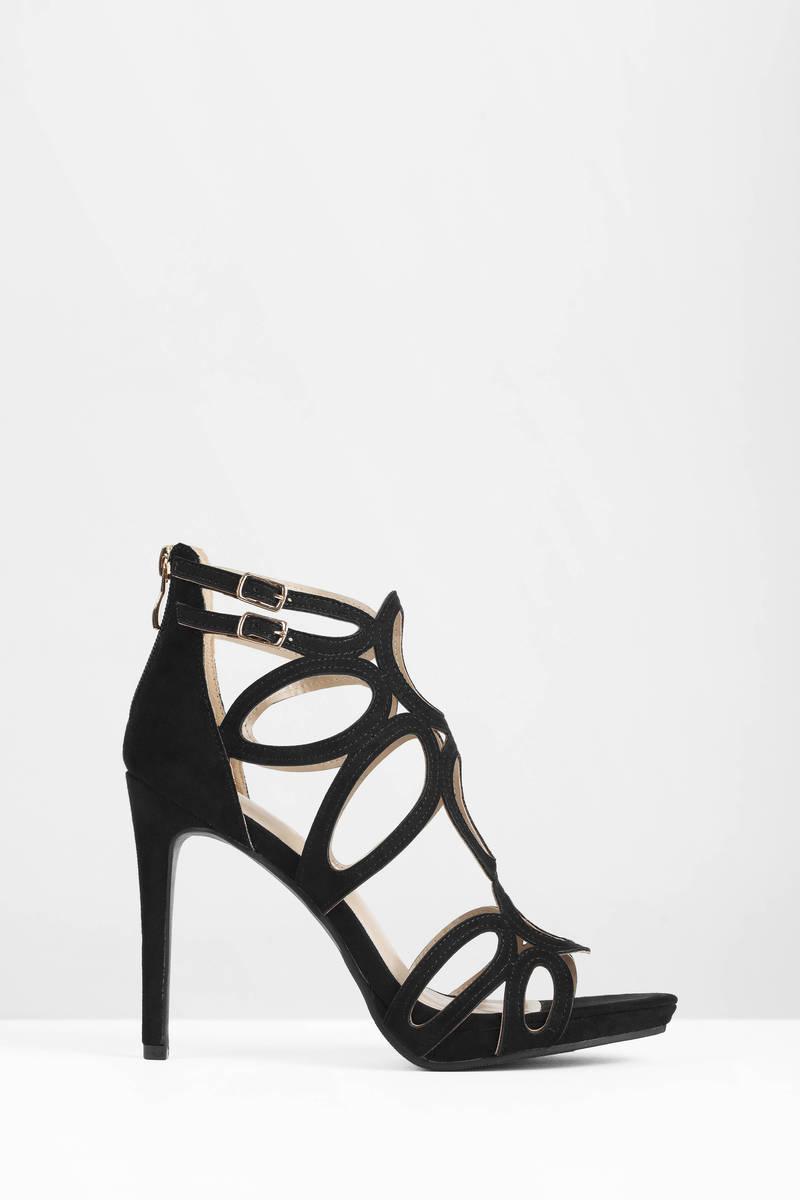 Report Footwear Report Footwear Triton Black Heels