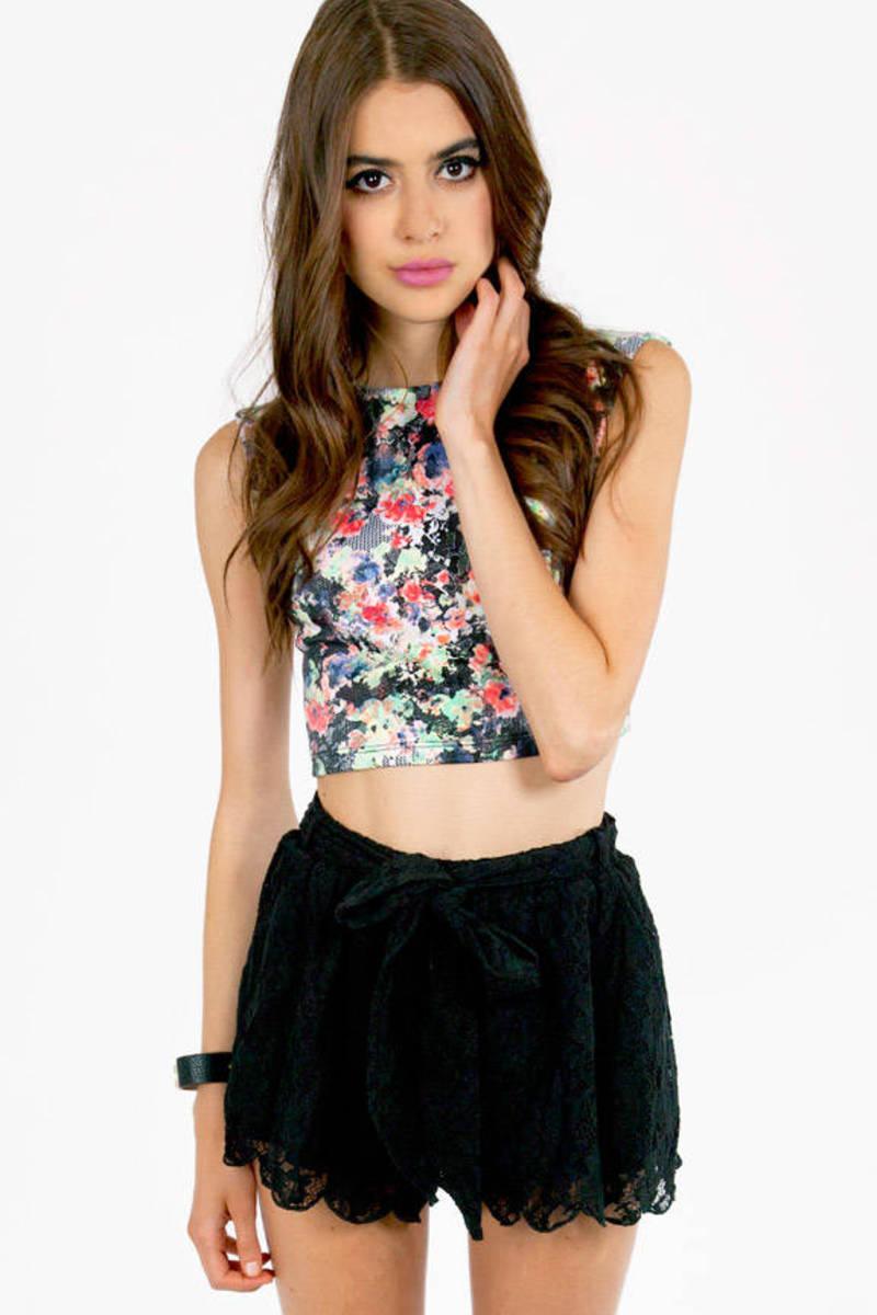 True Harmony Lace Shorts